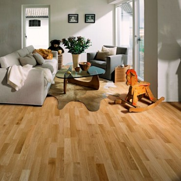 Kahrs Oak Lecco Satin Lacquered Engineered Wood Flooring