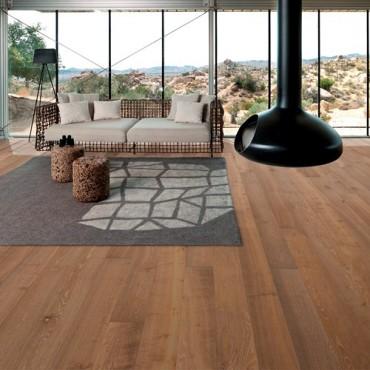 Kahrs Oak Nouveau Greige Matt Lacquered Engineered Wood Flooring
