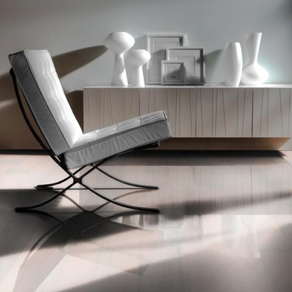 Kahrs Beech Opaque High Gloss Lacquered Engineered Wood Flooring (D)