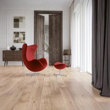 Norske Oak Parana Matt Laquered Brushed Engineered Wood Flooring
