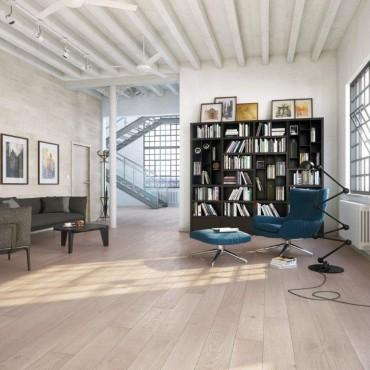 Norske Oak Solna Matt Lacquered Engineered Wood Flooring