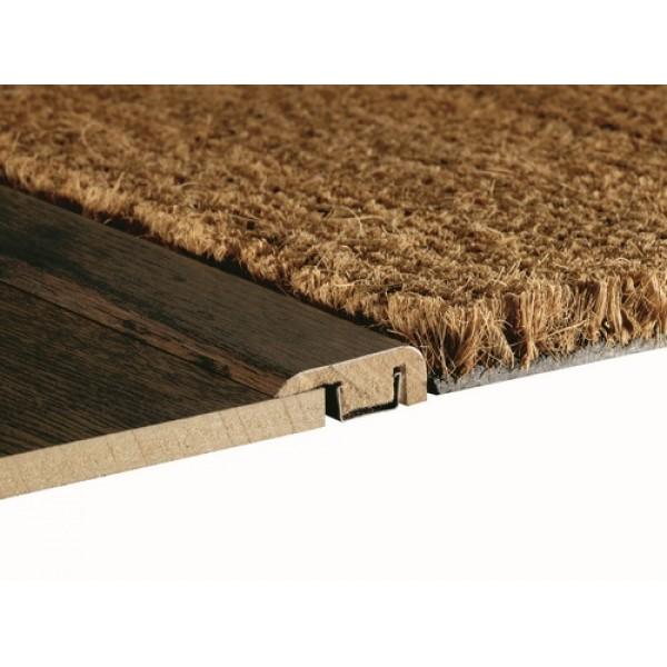 Woodpecker laminate wood effect end 2700mm profile